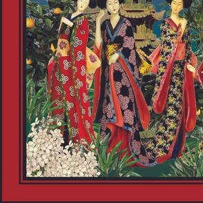 Emma's Geisha Panel
