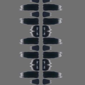 Paintbrush pattern grey