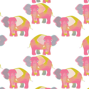 Pink Elephants by Mount Vic and Me