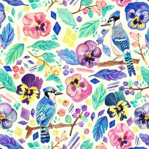 Blue Jay Winter Garden