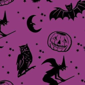 Bats and Jacks ~ Plum