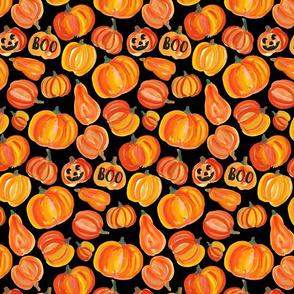 pumpkins black