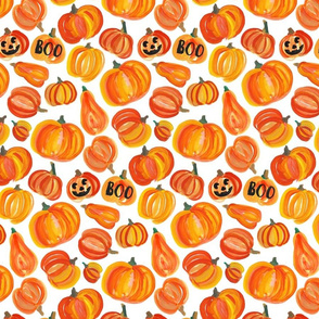 pumpkins white