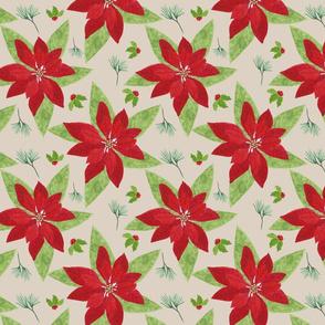 Poinsettia tile2