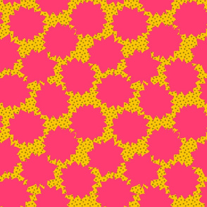 Comic Pop Art - Pink & Yellow