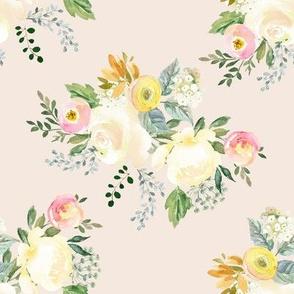 "8"" Let Me Love You Bouquet Ivory"