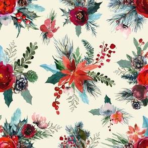 Winter Flora // Offwhite