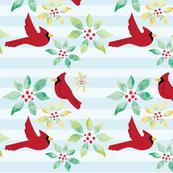 Cardinals Winter Flora