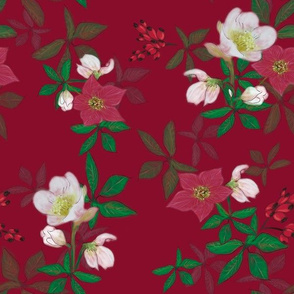 berry_christmas_rose