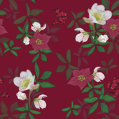 Kathrins_Papier_chrsitmas_rose_berry
