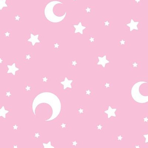 Pink Moons and Stars