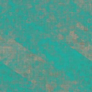 Chevron Collage - verdigris