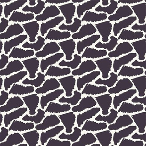 Seamless vector pattern. Abstract sylized animal skin.