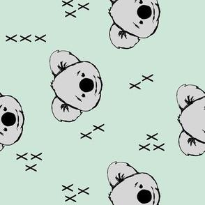Koala // mint (90) C19BS