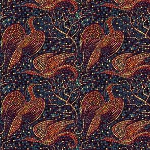 Small Mosaic Cranes
