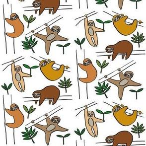 Jungle Sloths Ochre