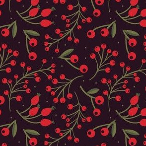xmas flora | red berries