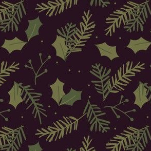 xmas flora | spruce branches