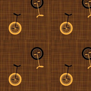 unicycles - brown