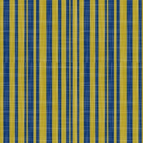 stripes mustard-navy