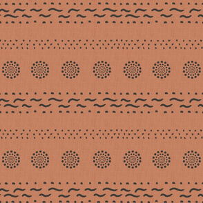 Southwest Stripe-TerraCotta
