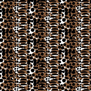 Animal Print Brown Black large scale