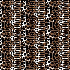 Animal Print Brown Black large scale