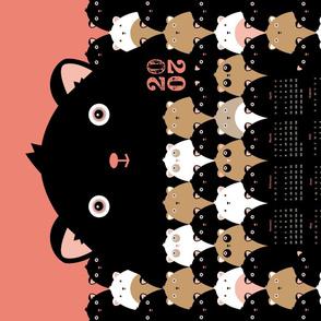 Cute Bears 2020 Tea Towel Calendar