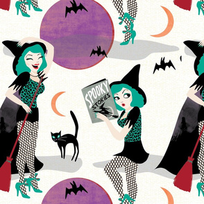 Pin up witch white by Mount Vic and Me