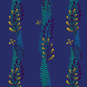 Night Fern Stripe