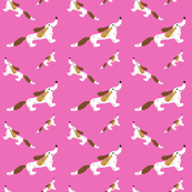 Pink Dachshund Repeat