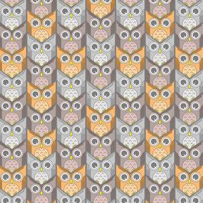 woodland owl chevron