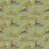 FOX AND DEER GREEN