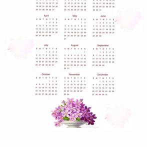 Tea Towel Calendar 2020
