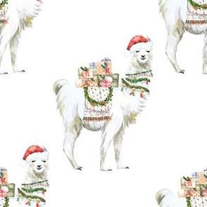 "8"" Christmas Llama"
