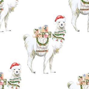 "18"" Christmas Llama"