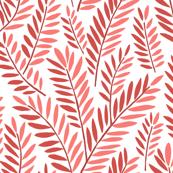 SERPENTINE LEAVES red