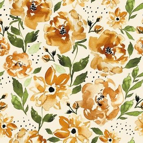 Halloween Floral golden C