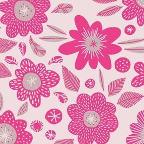Paddington flowers pink