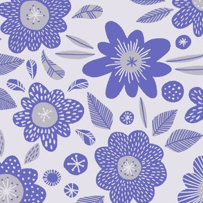 Paddington flowers blue