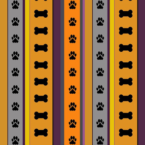 Dog Stripes_Halloween_medium scale