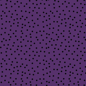 black and purple dots