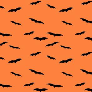 Orange Black bats