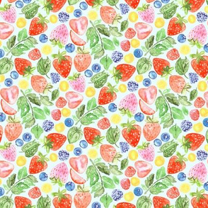 Bright Berries (Small Version)