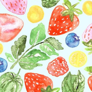 Bright Berries  (Large Version)