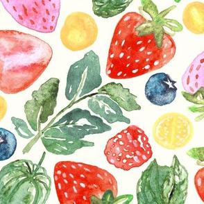 Summer Berries  (Large Version)
