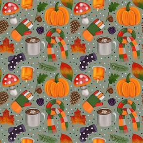 Autumn/Fall pattern.