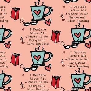 Jane Austen Quote Pink