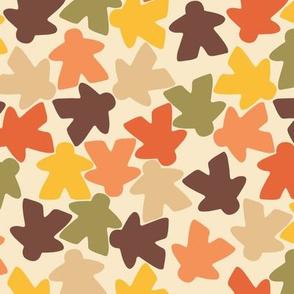 Meeple People // retro autumn // large