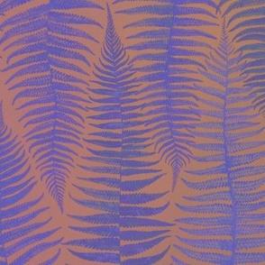 Ferns Blue